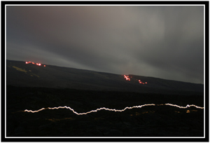 The hills are alive with the sight of lava.